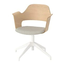 wooden white desk chair bed sleeper ikea chairs fjallberget conference