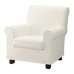 butterfly chair ikea side table armchairs traditional modern gronlid armchair inseros white