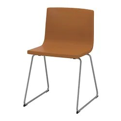 ikea metal chairs vintage high back chair dining bernhard