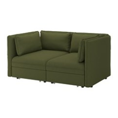 Where To Get Rid Of A Sleeper Sofa Sectional Sofas For Small Es With Recliners Beds Ikea Vallentuna 2 Seat Modular W Orrsta Olive Green
