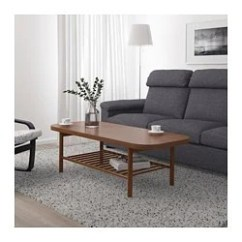 Tables Living Room Deco Ideas Coffee Side Ikea Listerby Table Brown