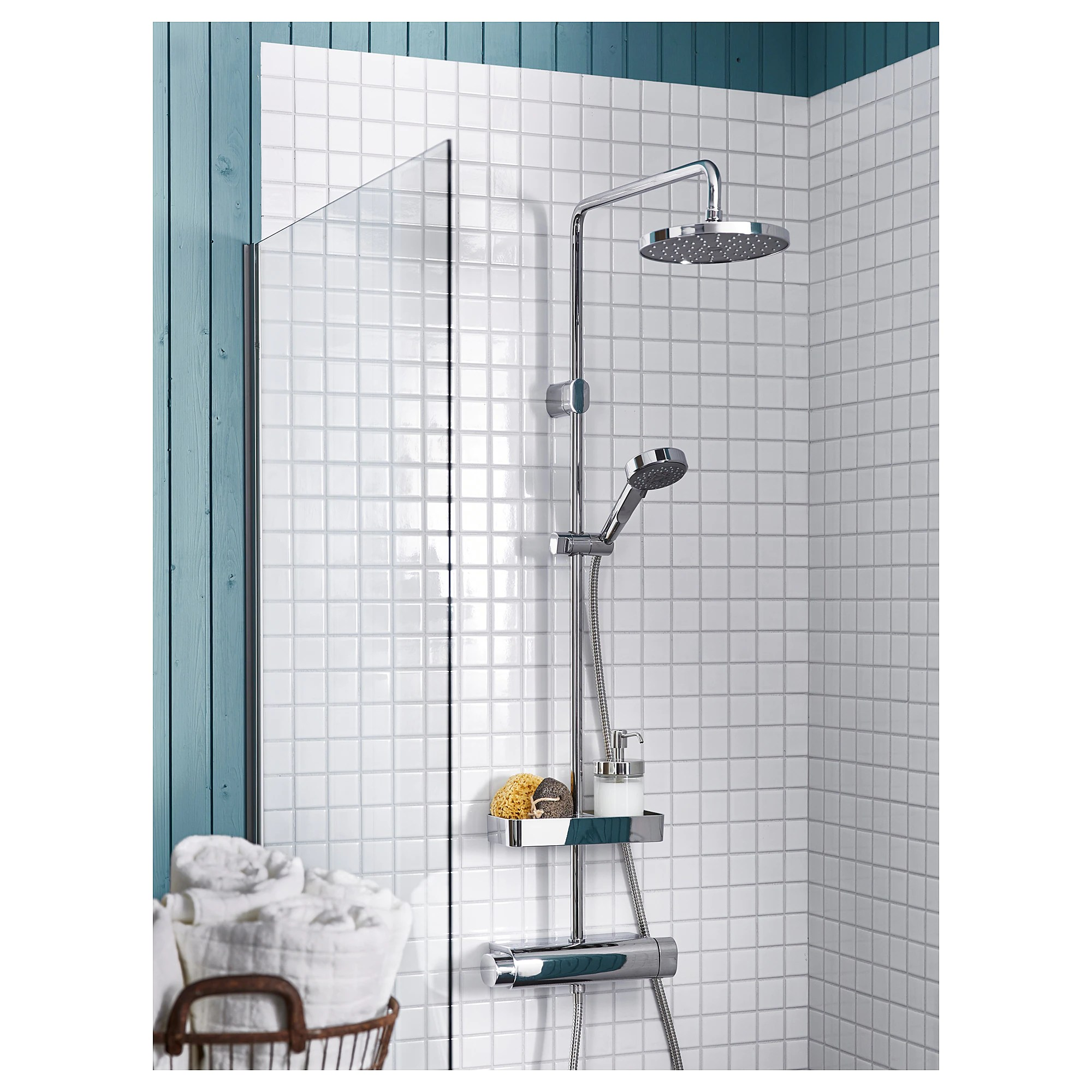 shower set with thermostatic