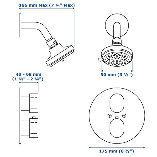 small resolution of diagram of shower head