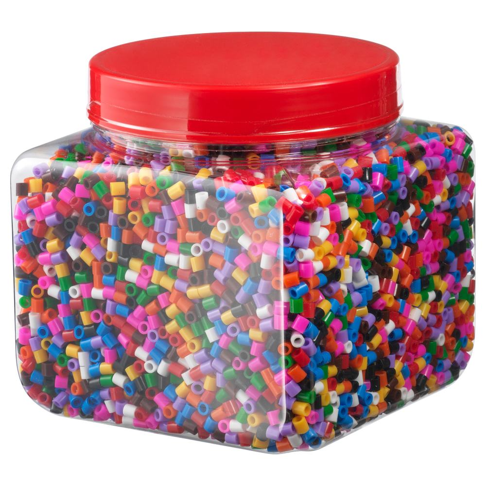 medium resolution of pyssla beads mixed colors assorted colors 1 lb 5 oz 600 g