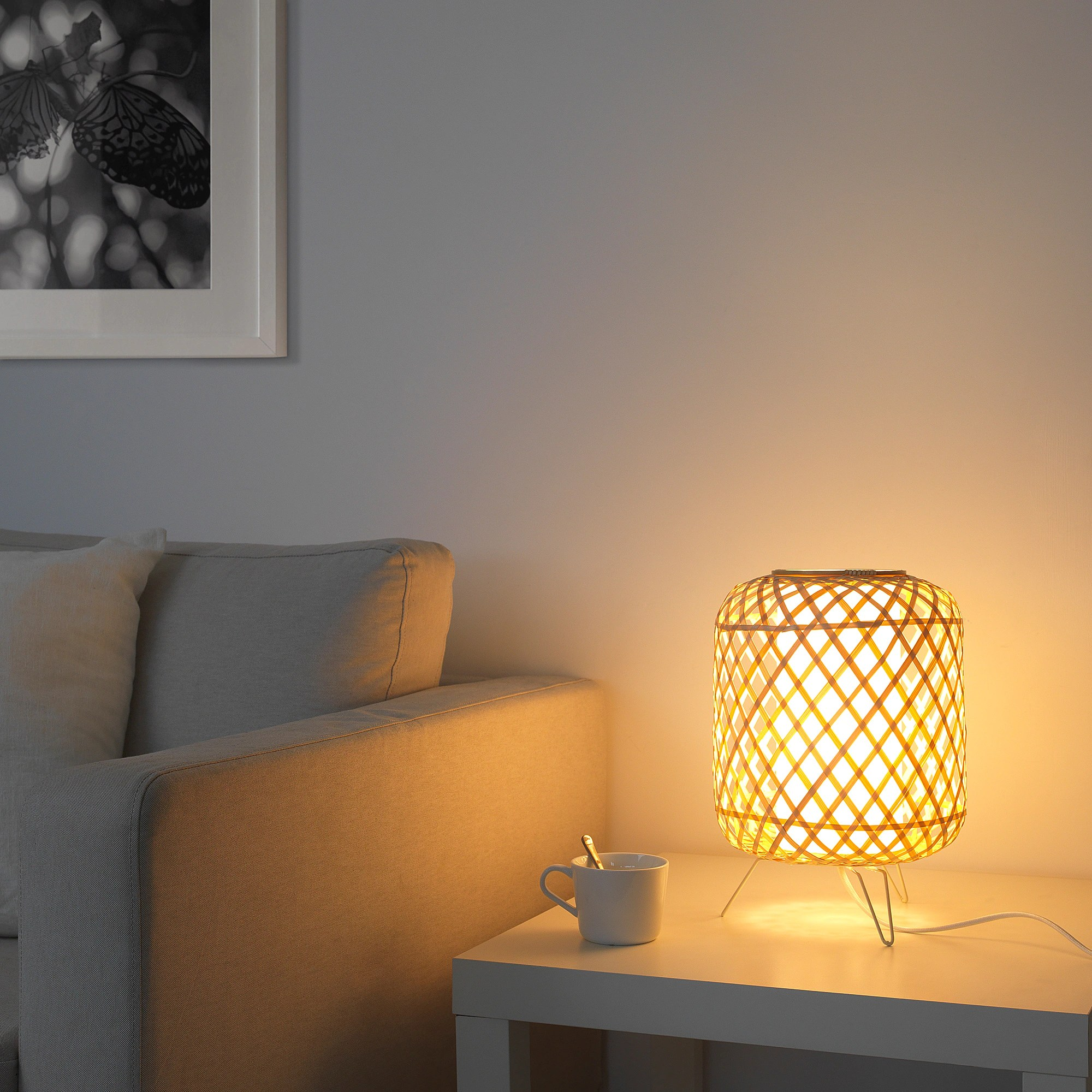 Lampe De Table Gottorp Bambou