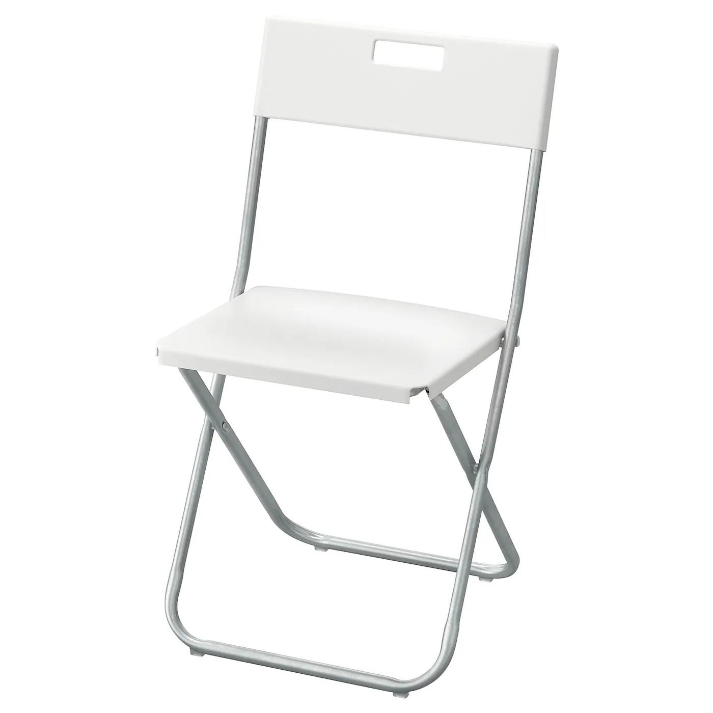 Folding Chair Gunde White