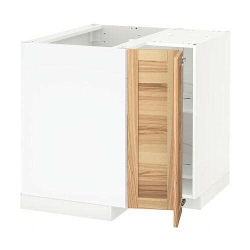 METOD EckunterschrankKarussell  Torhamn naturfarben Esche  IKEA