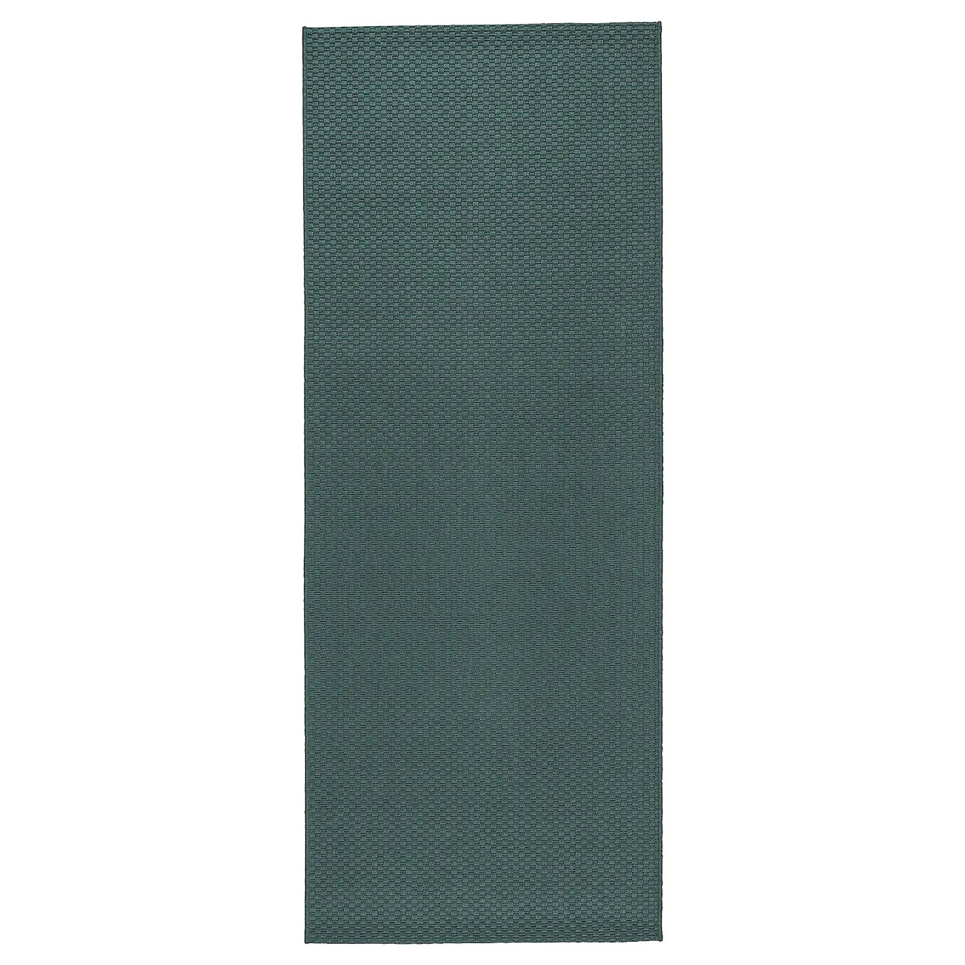 morum teppich flach gewebt drinnen drau grau turkis 80x200 cm