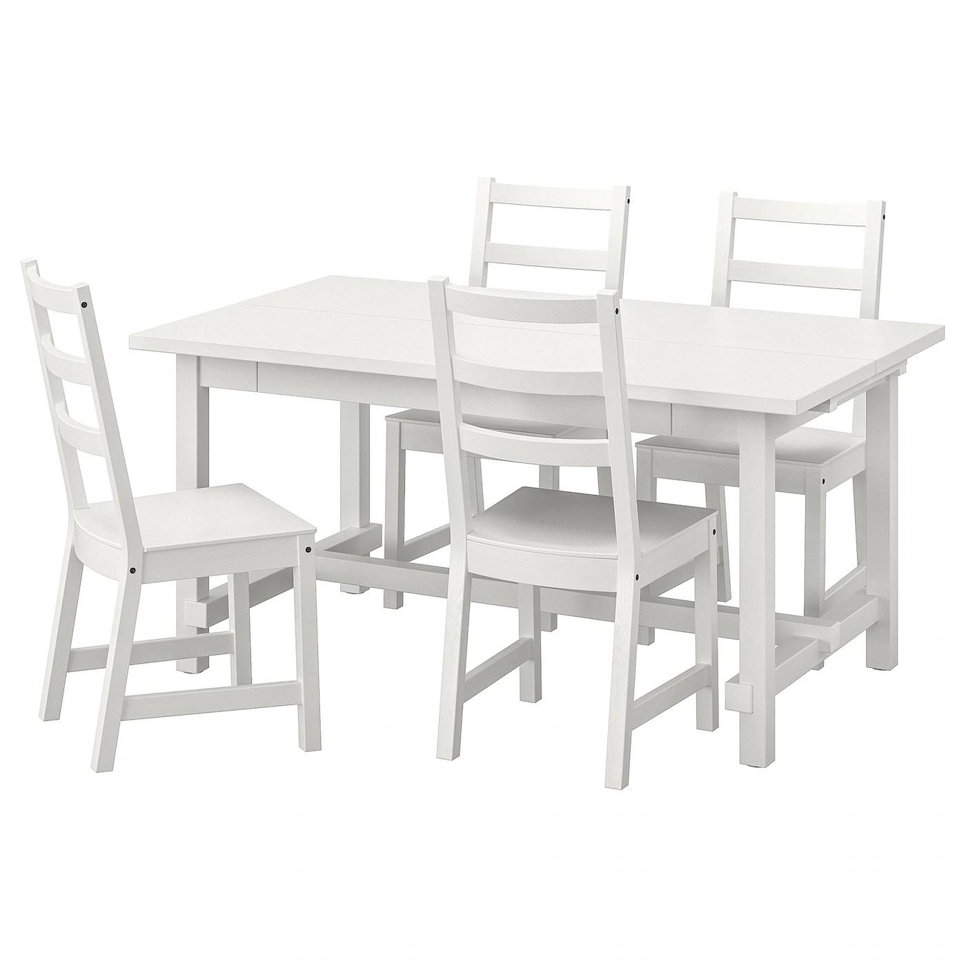 Ikea Esstisch Weiss Mit 4 Stuhlen