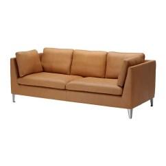 Leather Chesterfield Sofa Beige Buy Bed Stockholm 3er-sofa - Seglora Naturfarben Ikea