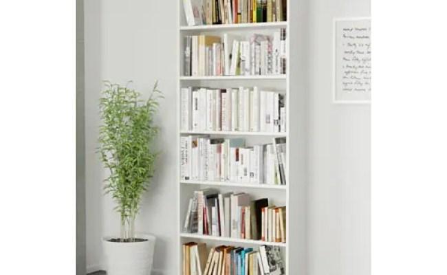 Billy Bookcase White 80x28x202 Cm Ikea