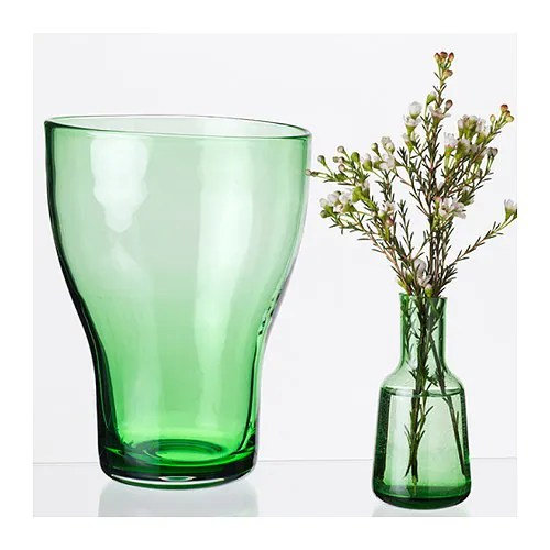 BLOMMIG Vase, green