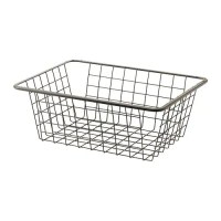 KOMPLEMENT Wire basket with pull-out rail - 50x35 cm - IKEA