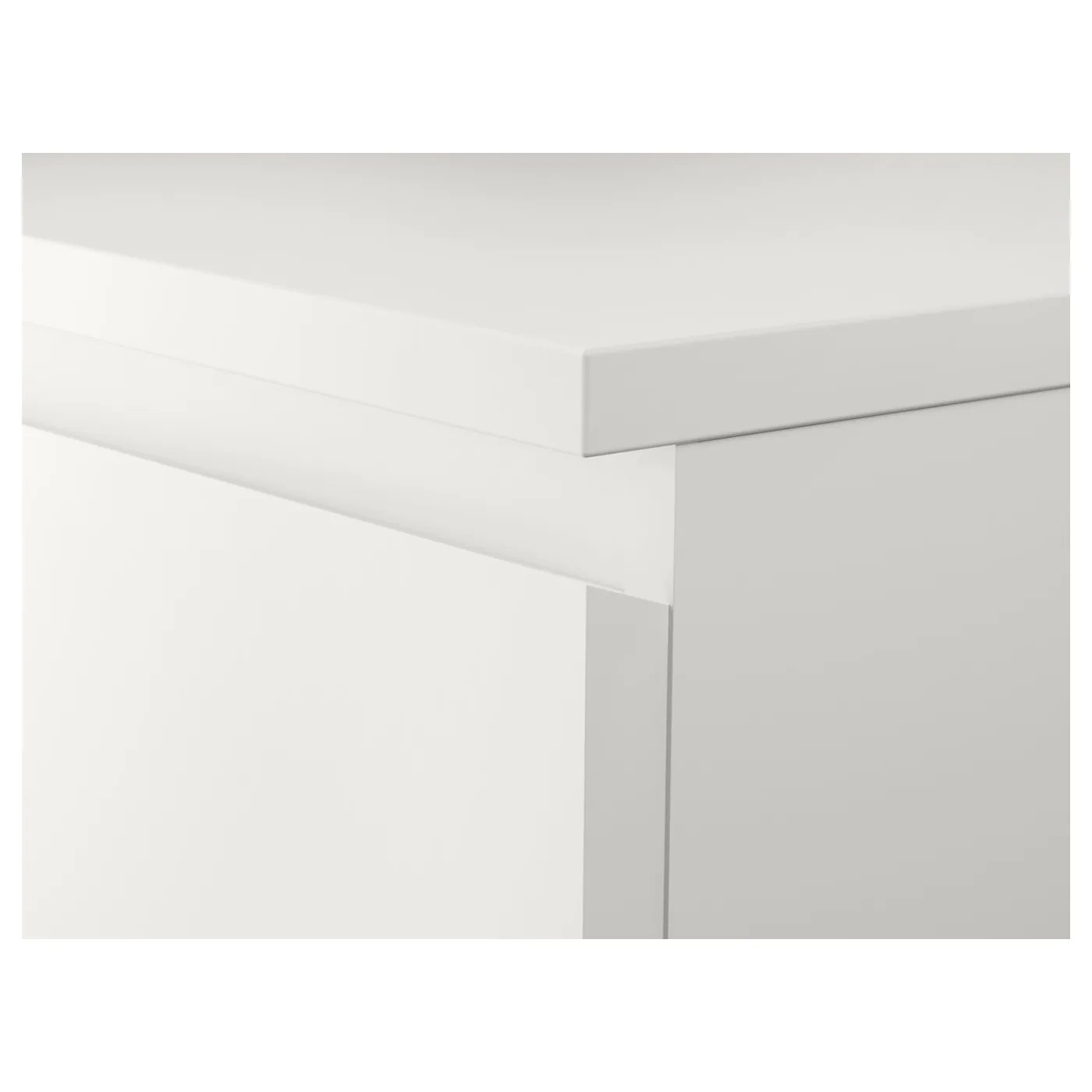 Malm Chest Of 2 Drawers White