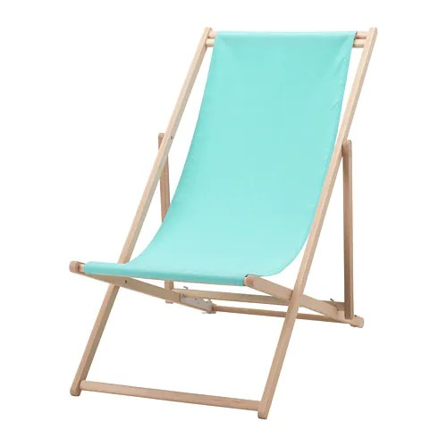 ikea beach chair eddie bauer classic 3 in 1 wood high mysingso turquoise