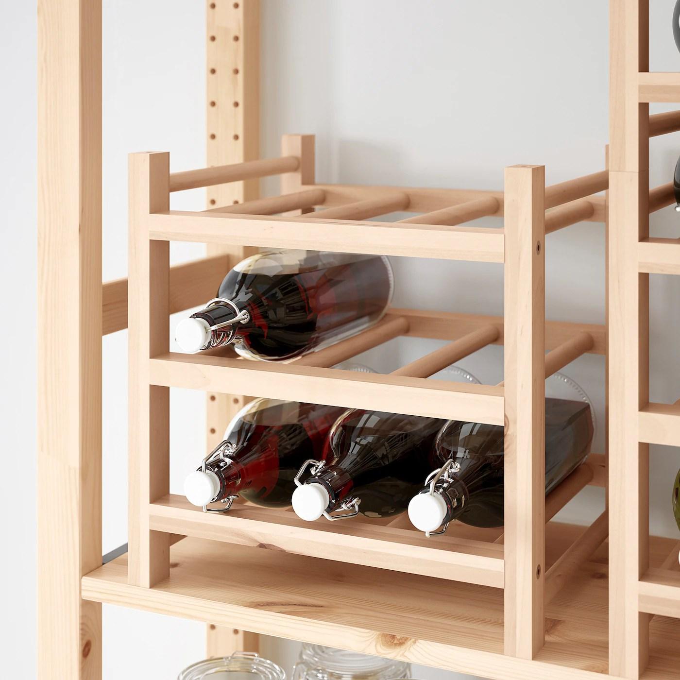 hutten range bouteilles 9 places bois massif