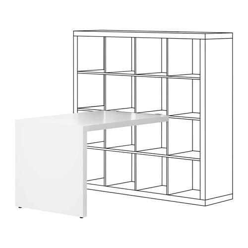KALLAX Bureau Blanc 115x76 Cm IKEA
