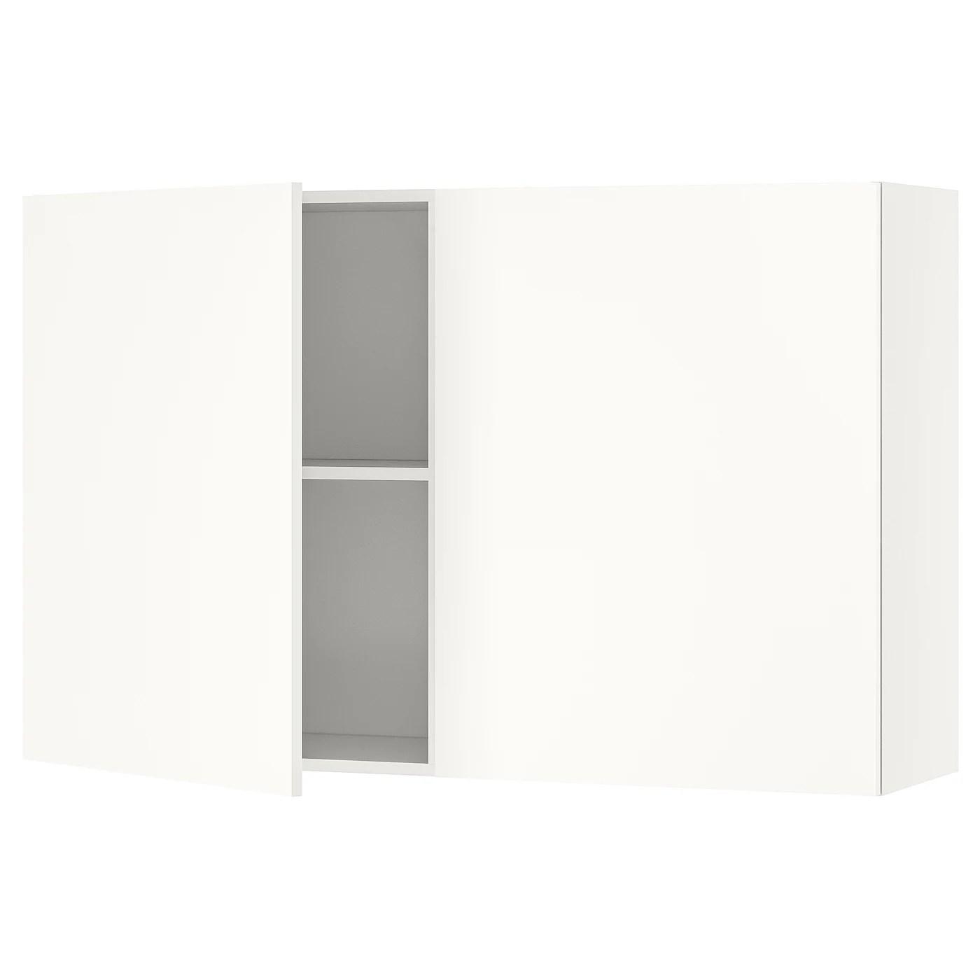 knoxhult element mural avec portes blanc 120x75 cm