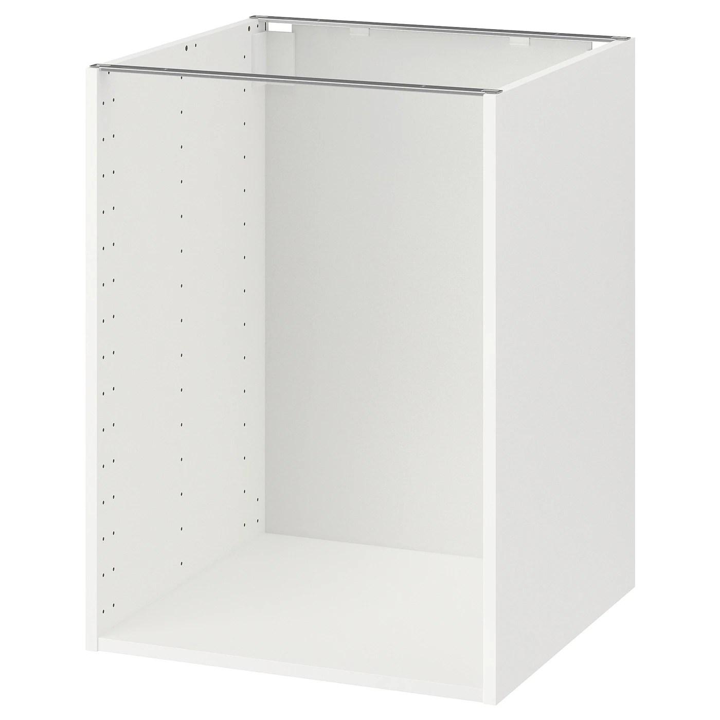 metod structure element bas blanc 60x60x80 cm