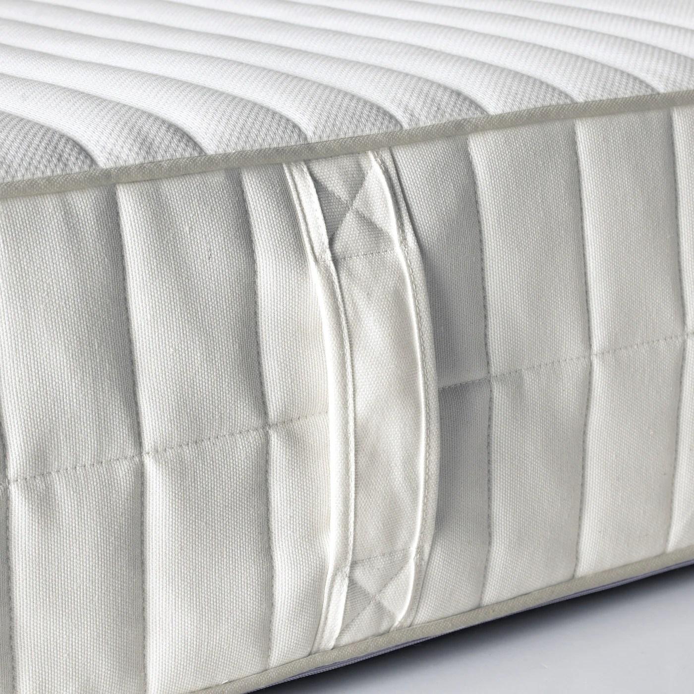 Myrbacka Matelas En Mousse Memoire De Forme Ferme Blanc 140x200 Cm Ikea