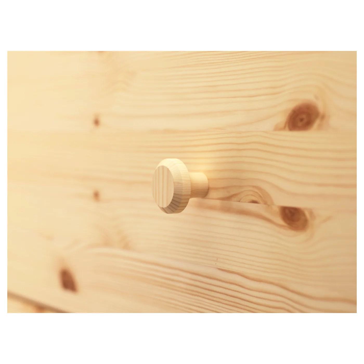 ikea tarva commode 6 tiroirs en bois massif un materiau naturel et resistant a l