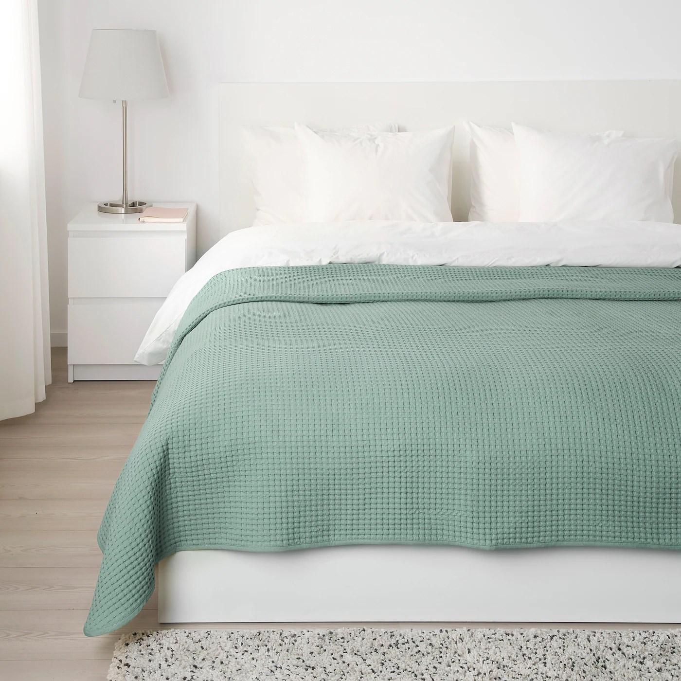 vareld couvre lit gris vert clair 230x250 cm