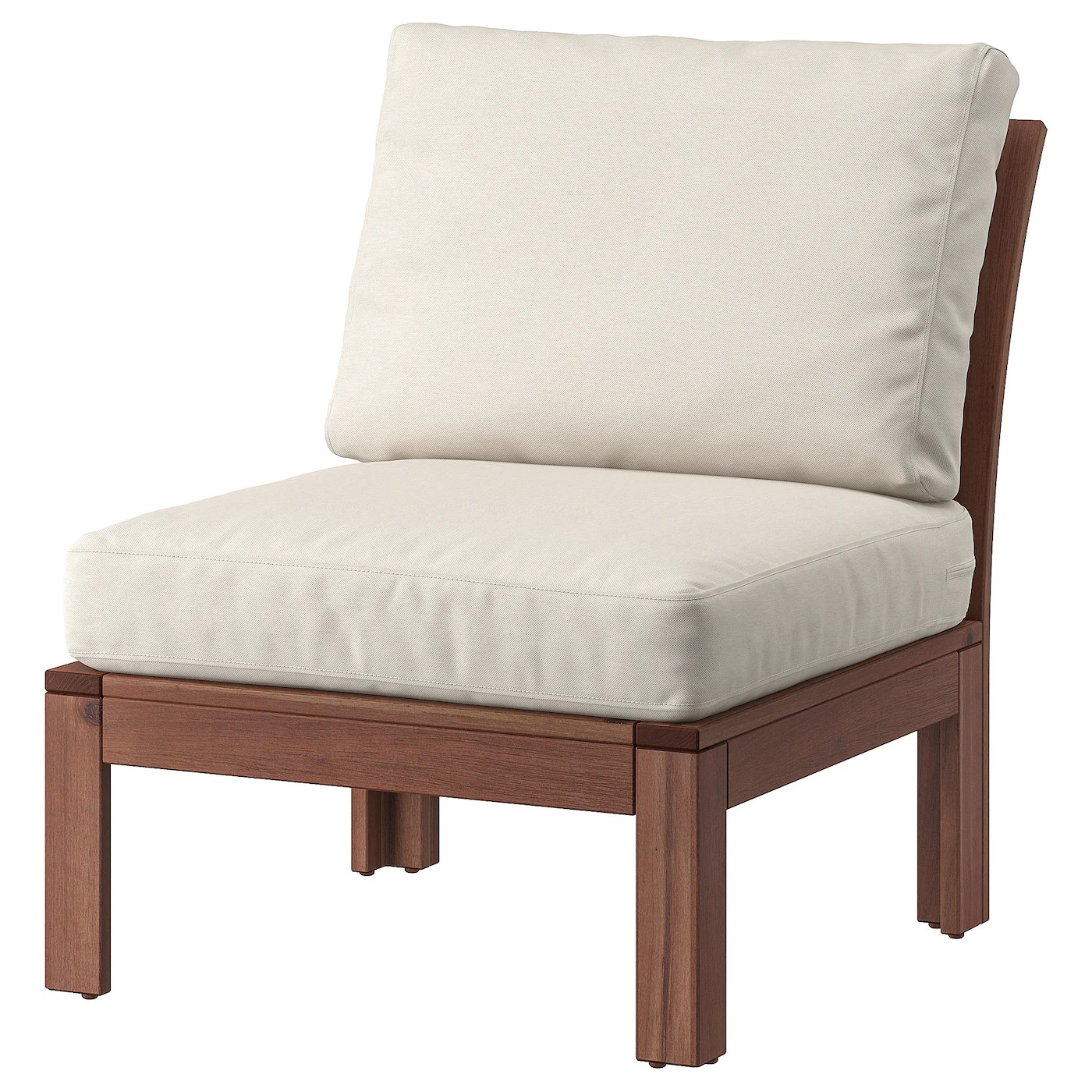 pplar chair outdoor - brown