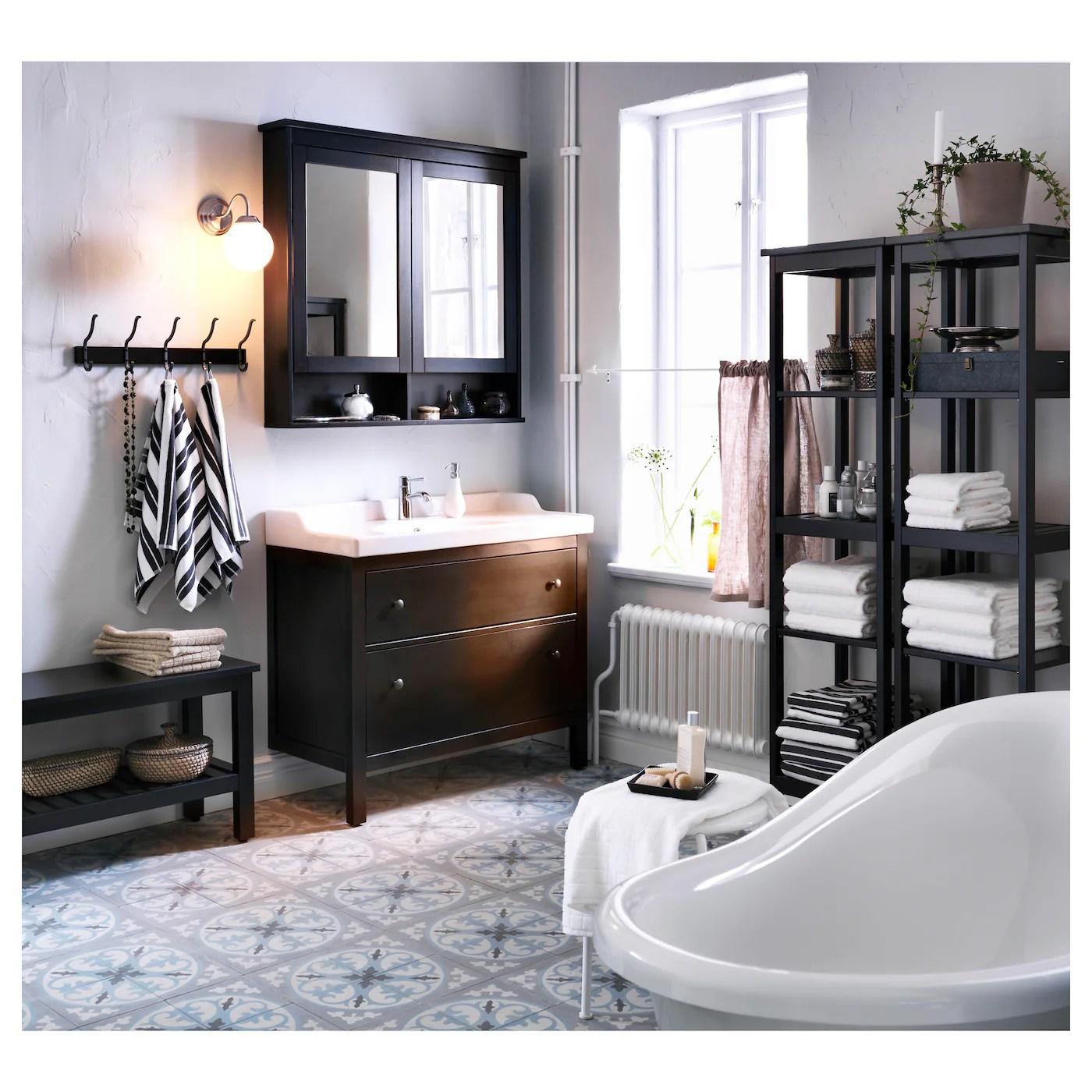 Hemnes Bathroom Vanity Black Brown Stain Official Website Ikea