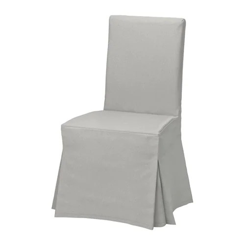 dining room chair covers au amazon prime henriksdal cover, long - ikea