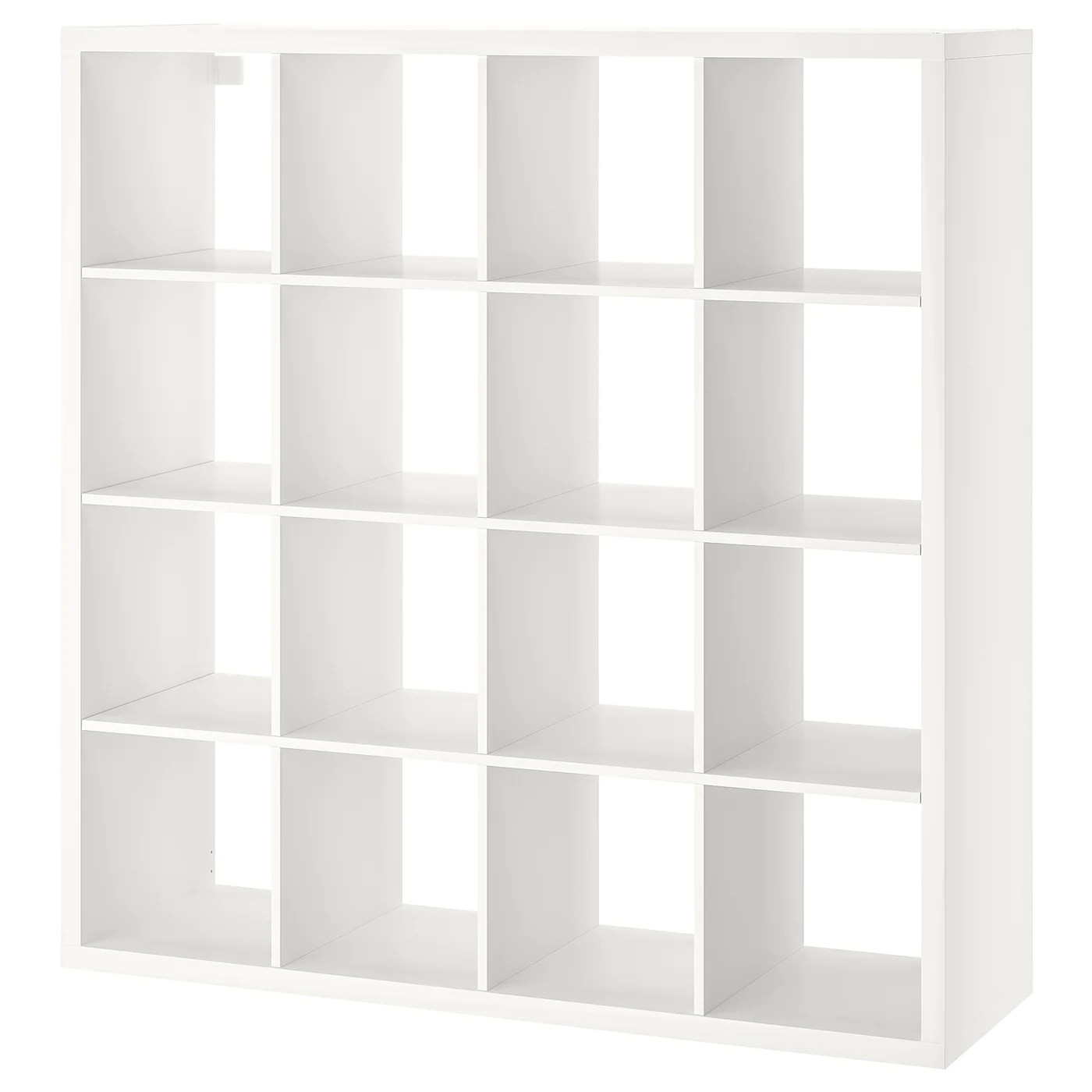 kallax shelf unit white 57 7 8x57 7 8 147x147 cm