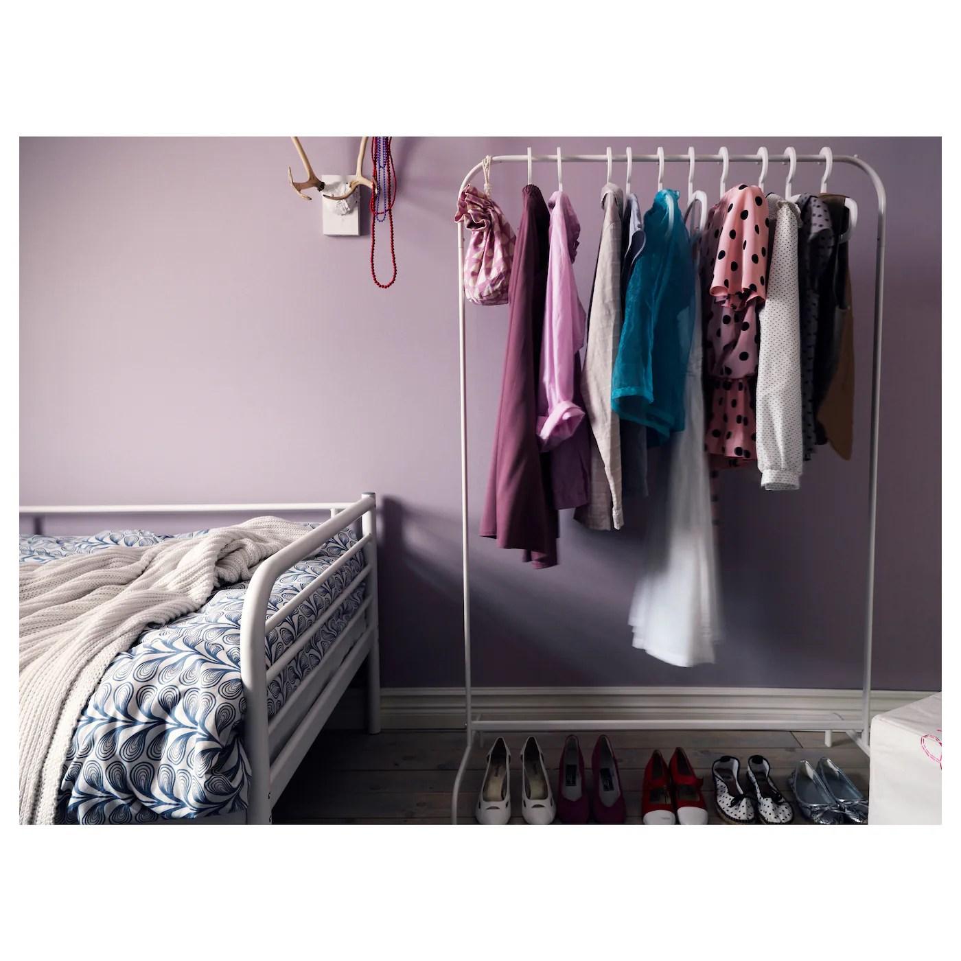 mulig clothes rack white 39x59 7 8 99x152 cm
