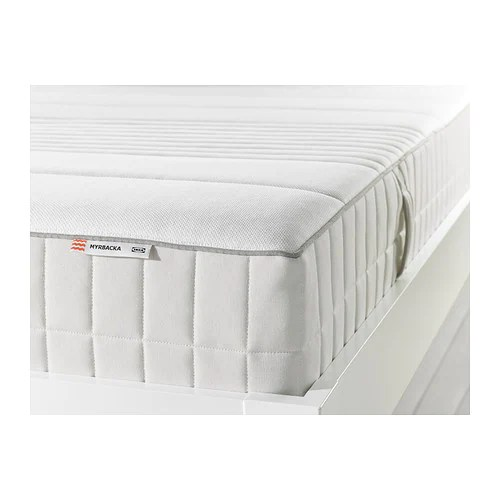 MYRBACKA Latex mattress  Full plushwhite  IKEA