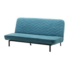 Reviews On Click Clack Sofa Beds Gordon Tufted Natural Linen Nyhamn Sleeper - With Foam Mattress/borred Green/blue ...