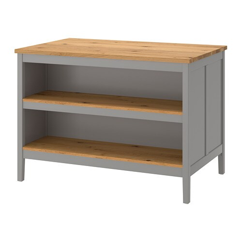 ikea kitchen island oak table tornviken