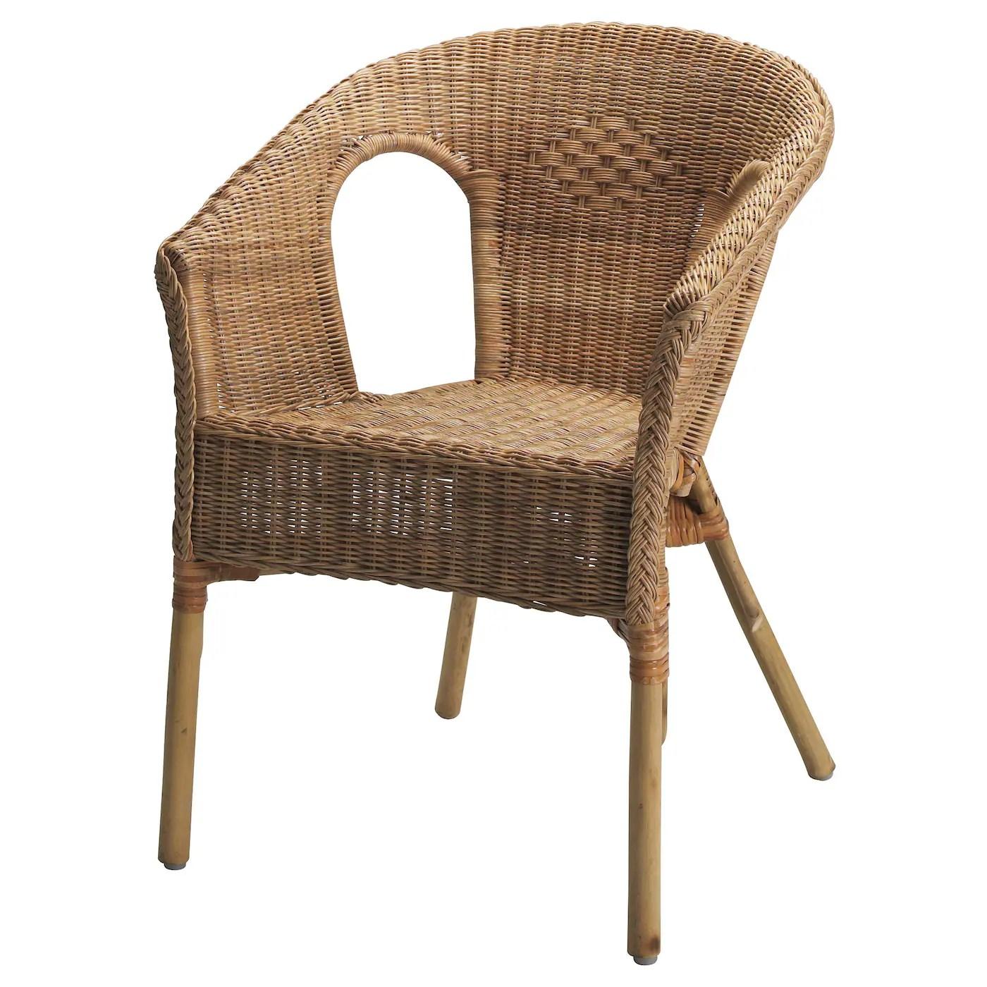 agen fauteuil rotin bambou