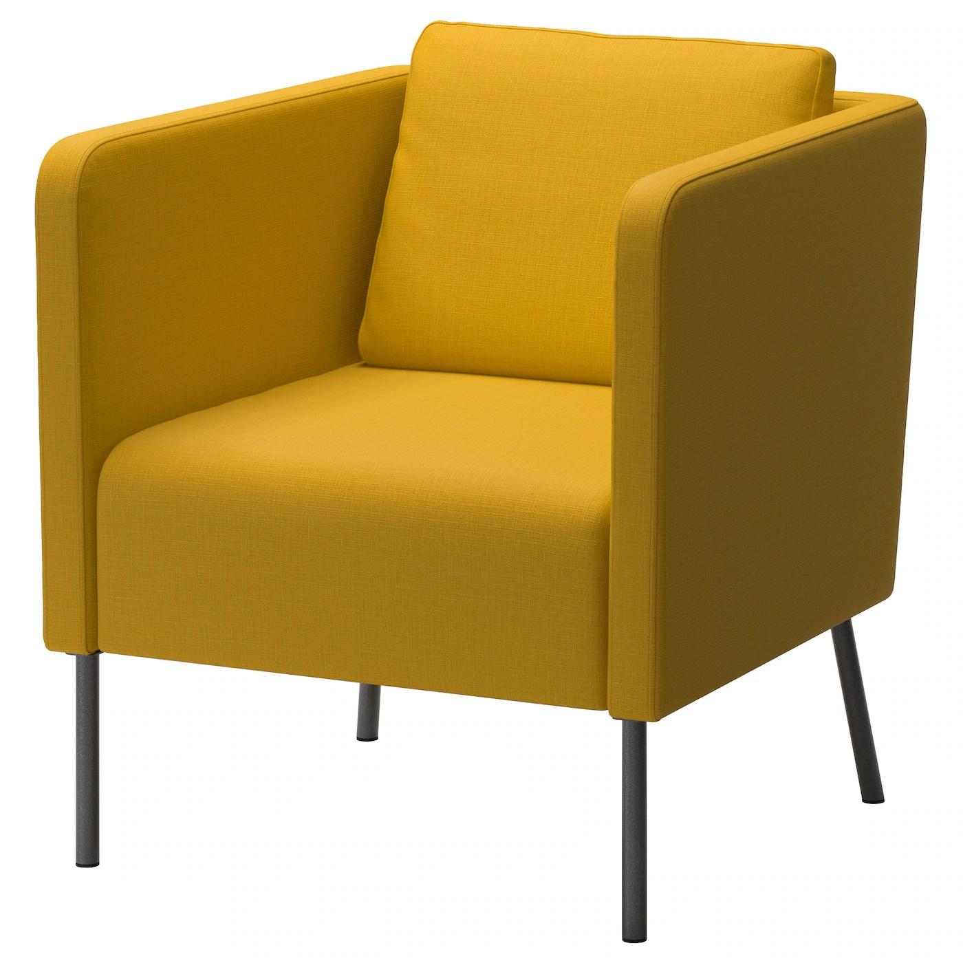 ekero fauteuil skiftebo jaune