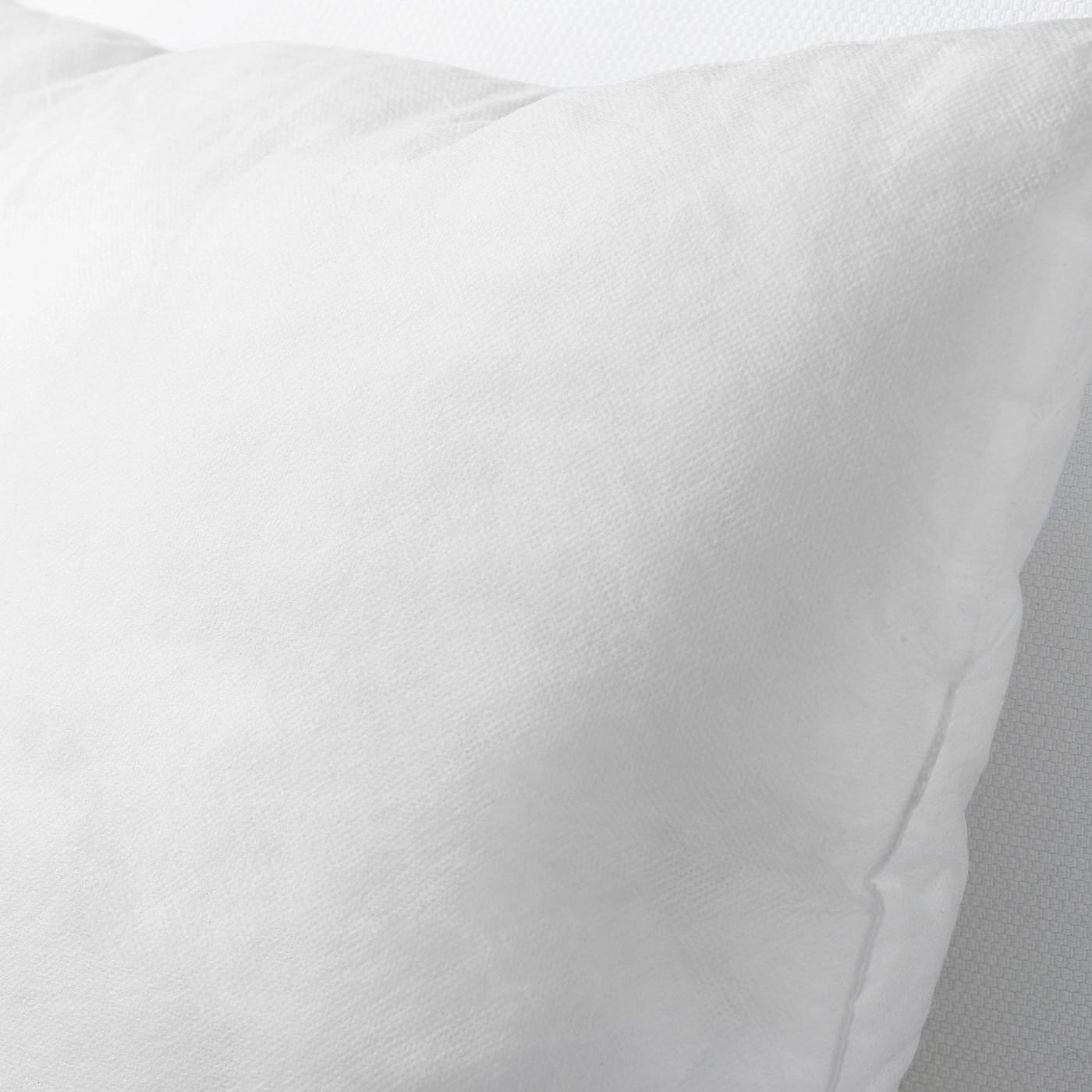 inner coussin a recouvrir blanc 26x26 65x65 cm