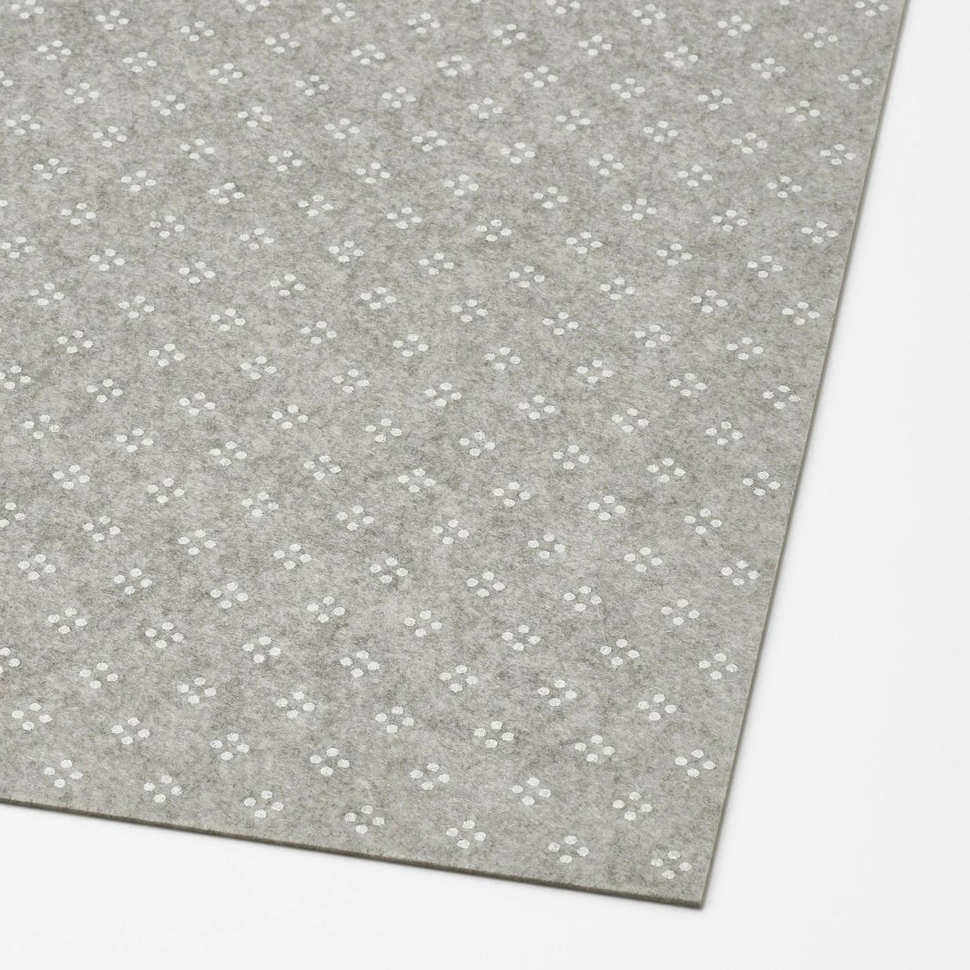 komplement tapis de tiroir gris clair a motifs 35x11 3 4 90x30 cm