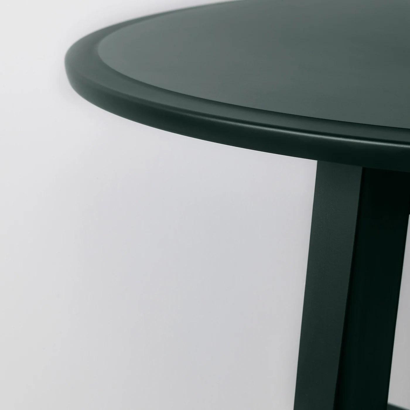 kragsta table basse bleu vert fonce 35 3 8 90 cm