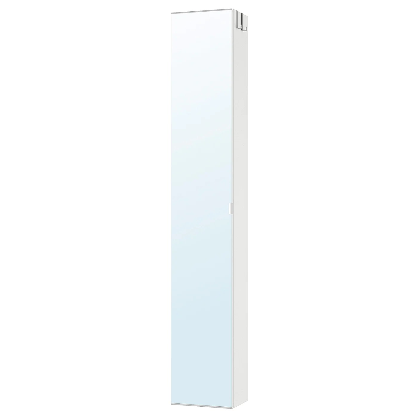 Lillangen Armoire Haute A Porte Miroir Blanc 30x21x179cm Ikea Canada Ikea