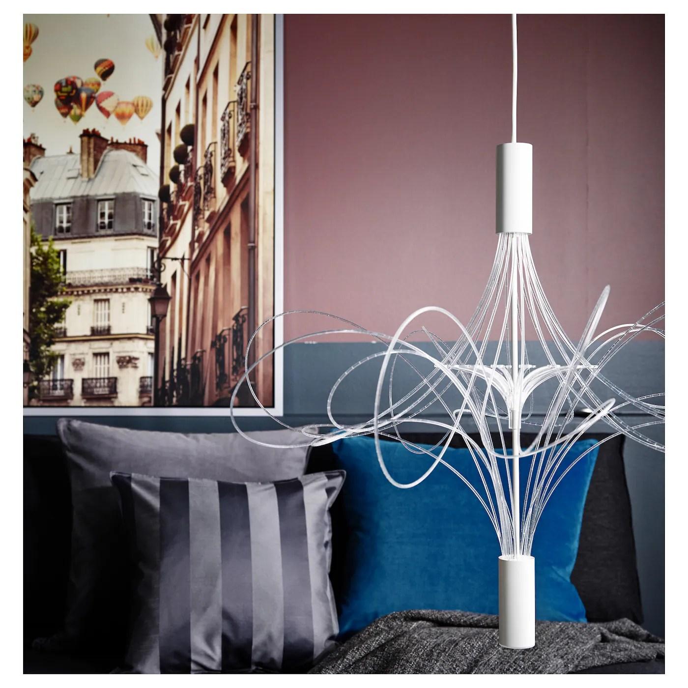 ÄLVSBYN Kronleuchter, LED   weiß   IKEA Schweiz