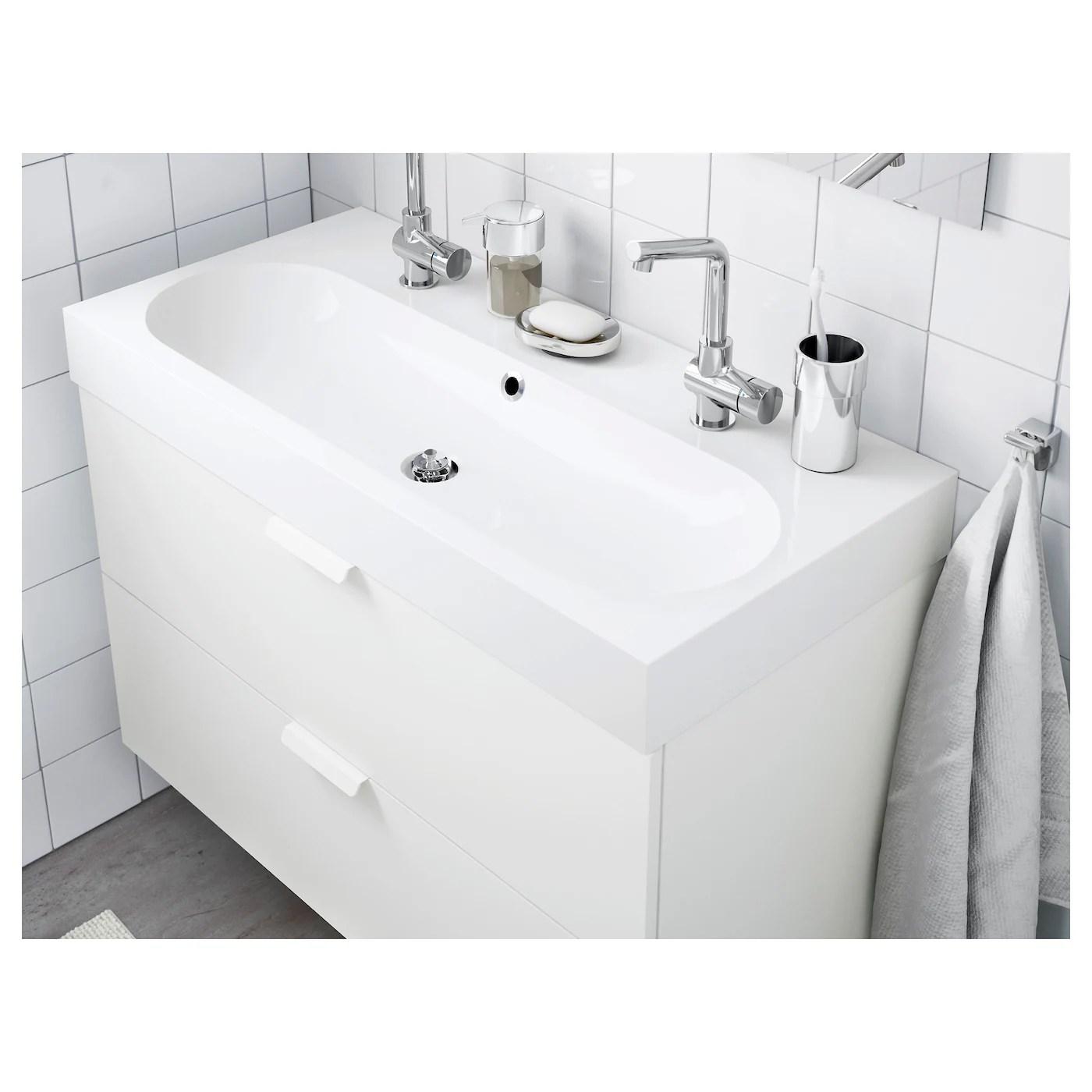 BRÅVIKEN Waschbecken/1   weiß   IKEA Schweiz
