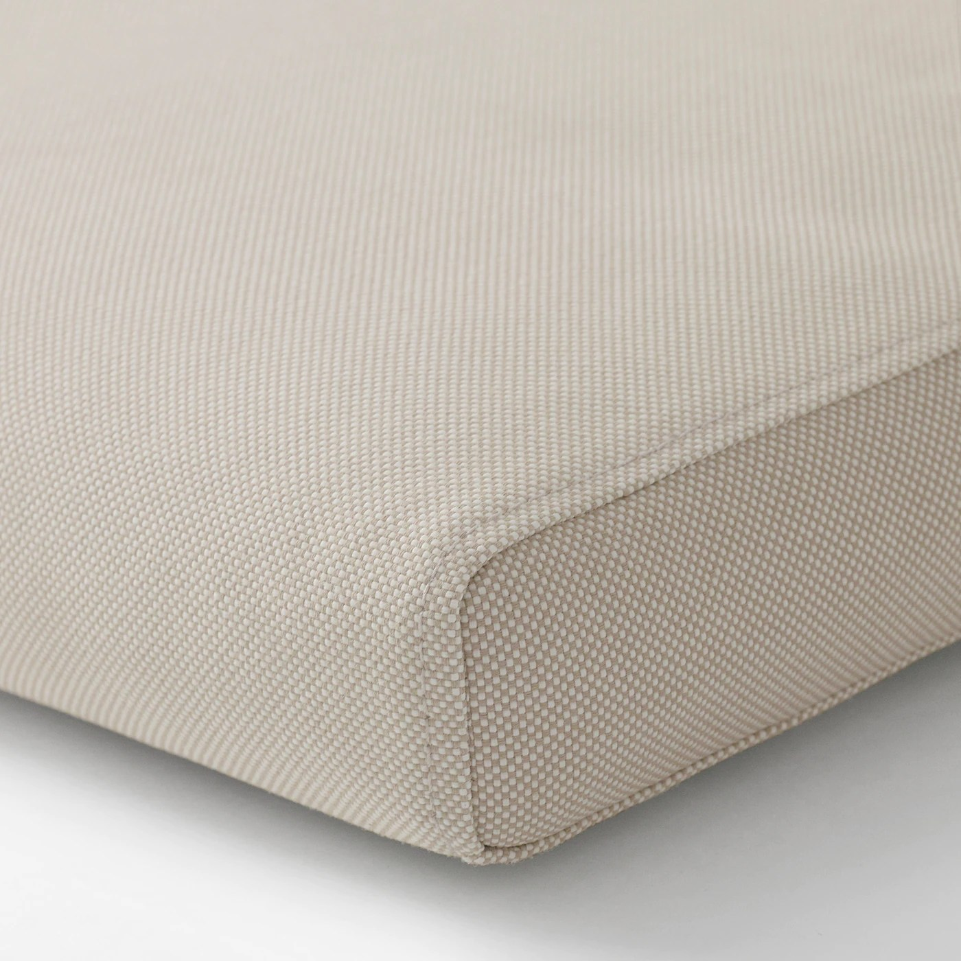 froson housse pour coussin assise dossier exterieur beige 116x45 cm