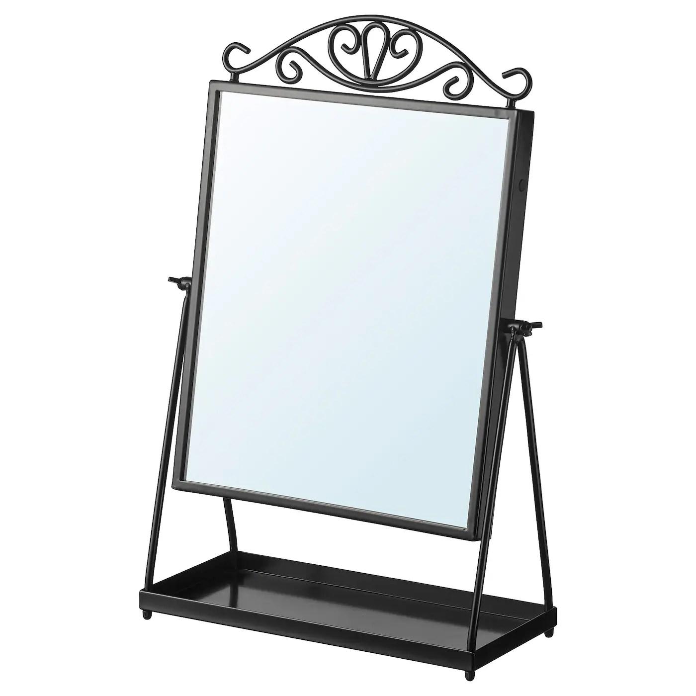 Karmsund Miroir De Table Noir 27x43 Cm Ikea Suisse