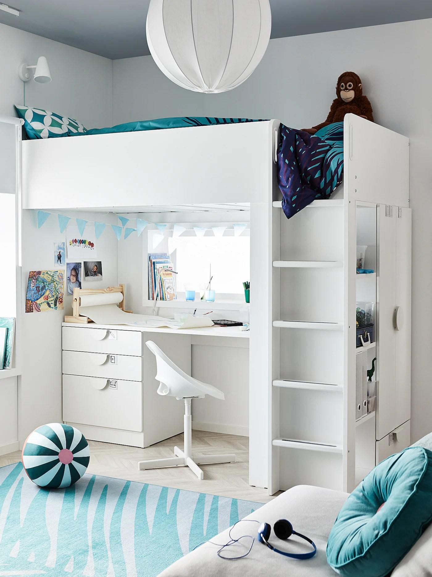 Le poltroncine camera da letto sono un tocco di stile che conferisce personalità alla zona notte. Loberget Sibben Sedia Da Scrivania Per Bambini Bianco Ikea Svizzera