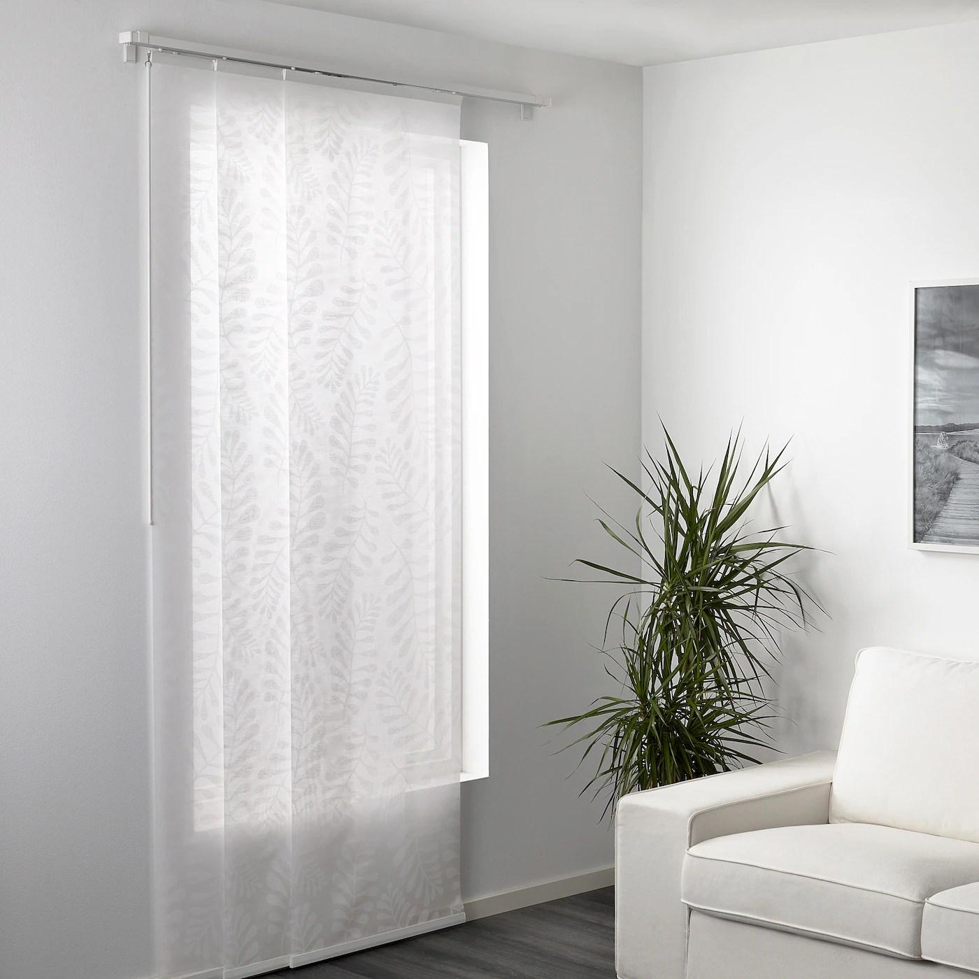 Da noi puoi anche fare le tue tende a vetro su misura. Yrla Tenda A Pannello Bianco Bianco 60x300 Cm Ikea Svizzera