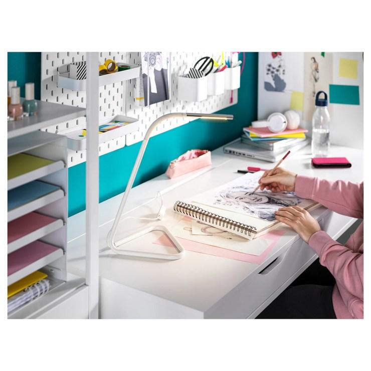 Ikea Schreibtisch Alex Weiß 2021
