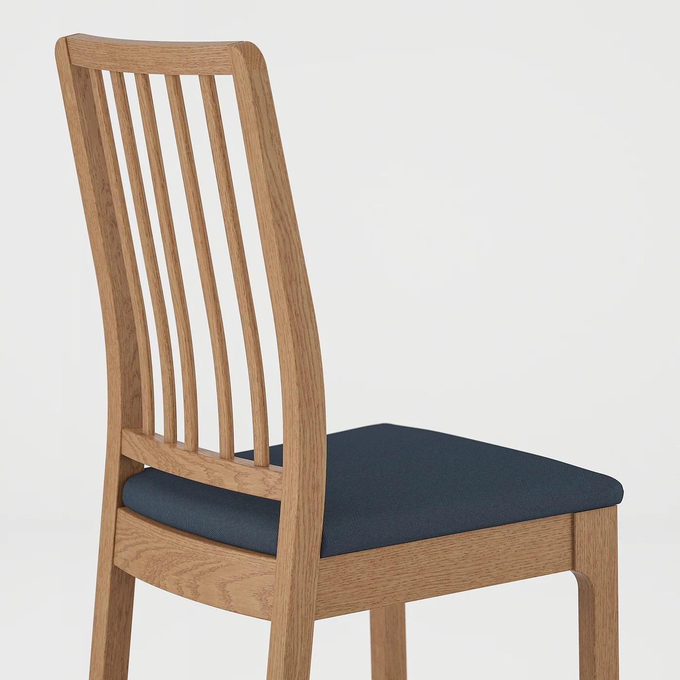 EKEDALEN Stuhl   Eiche/Idekulla blau   IKEA Deutschland