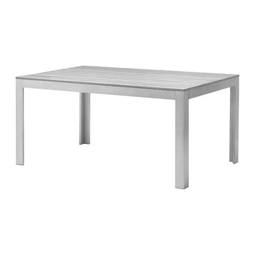 FALSTER Tisch Außen Grau IKEA