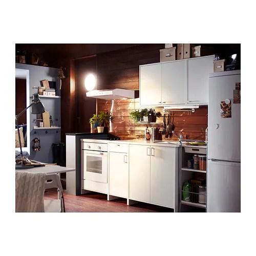 IKEA FYNDIG Unterschrank fr Backofen wei Kchenschrank